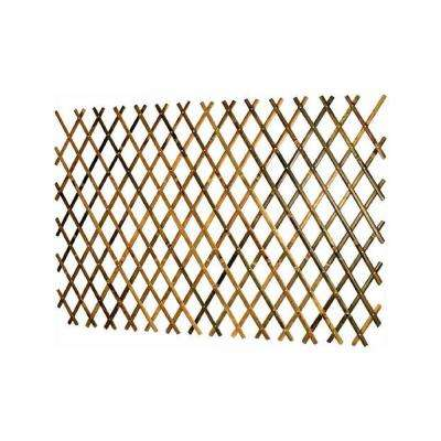 72 in. x 48 in. Bamboo Trellis with Aluminum Rivets