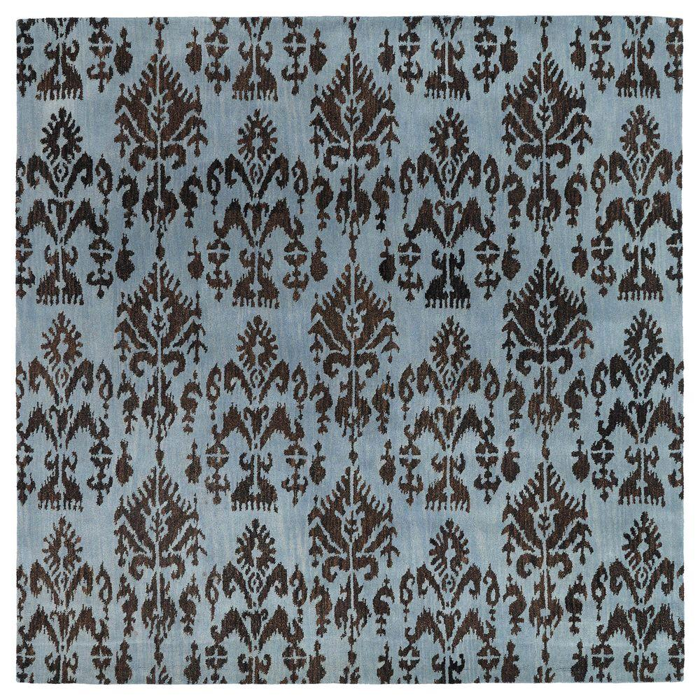 Kaleen Soho Southampton Spa 7 ft. 9 in. x 7 ft. 9 in. Square Area Rug