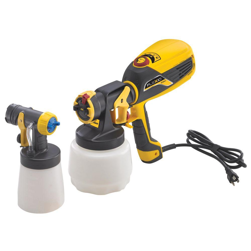 Wagner Flexio 590 Hvlp Paint Sprayer Kit 0529010 The