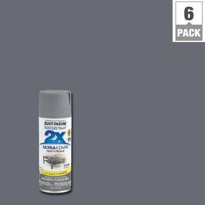 12 oz. Satin Granite General Purpose Spray Paint (6-Pack)