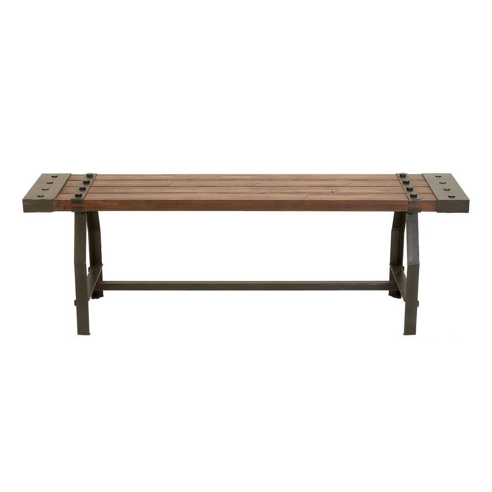 Dark walnut Bench