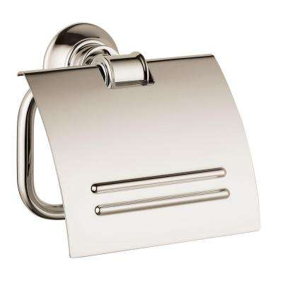 Axor Montreux Single Post Toilet Paper Holder in Polished Nickel