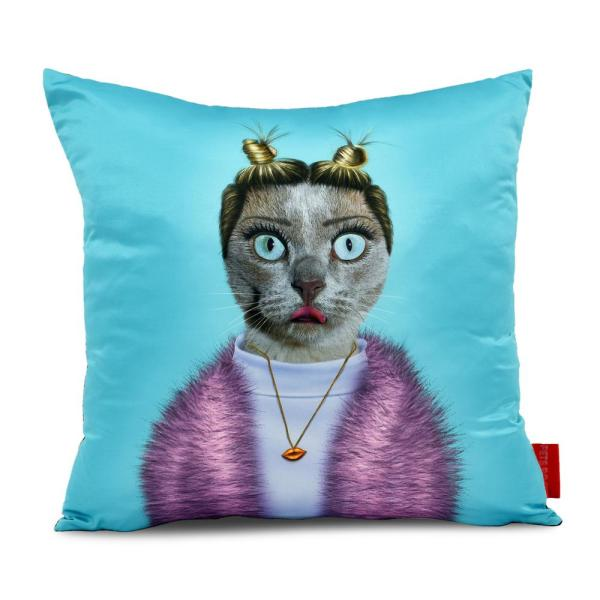 18 in. x 18 in. Pets Rock ''Twerk'' Throw Pillow
