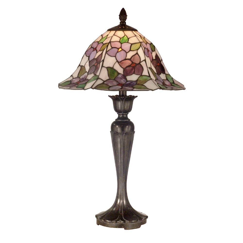 Dale Tiffany Tiffany 1-Light Fieldstone Table Lamp-DISCONTINUED