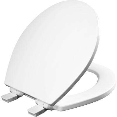 Atwood Round Closed Front Toilet Seat in White
