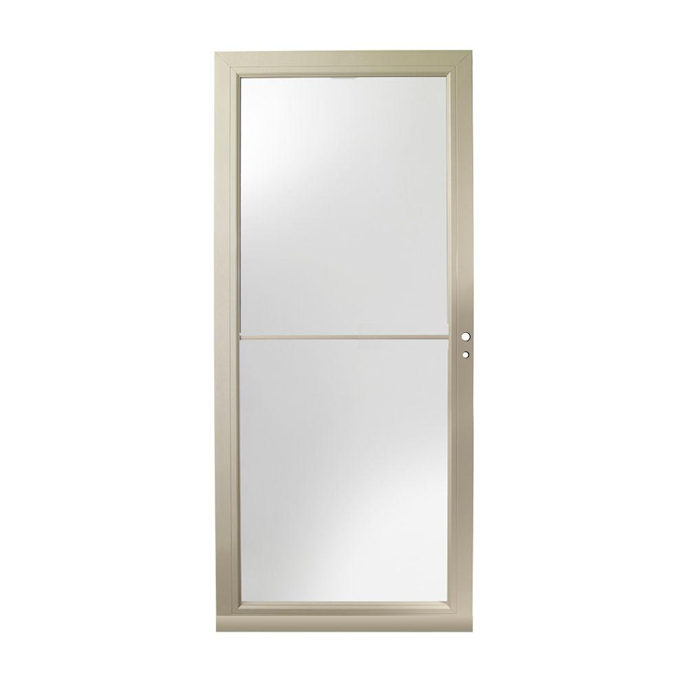 Andersen 30 in. x 80 in. 3000 Series White Right-Hand Self-Storing ...