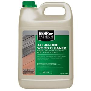 BEHR Premium 1-gal. All-In-One Wood Cleaner for Free