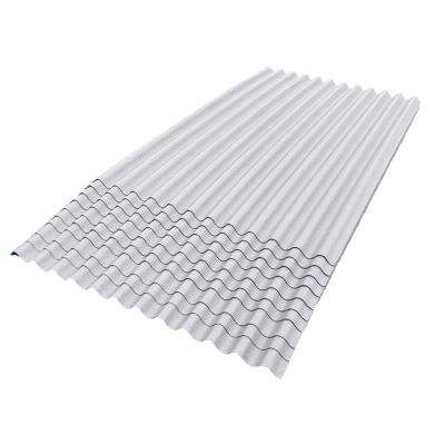 6 ft. 7 in. x 4 ft. Asphalt Corrugated Roof Panel in White (10-Pack)