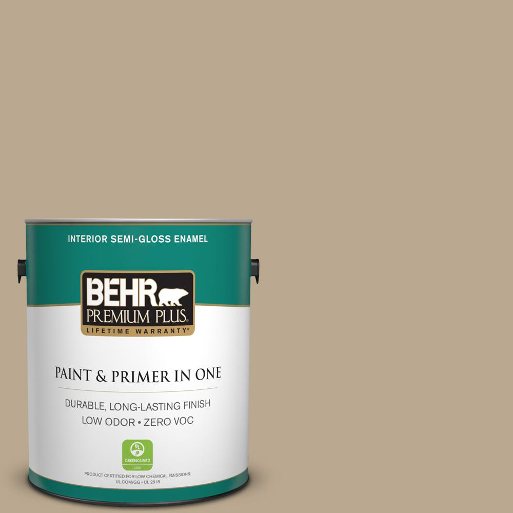 1-gal. #N300-4 Open Canyon Semi-Gloss Enamel Interior Paint