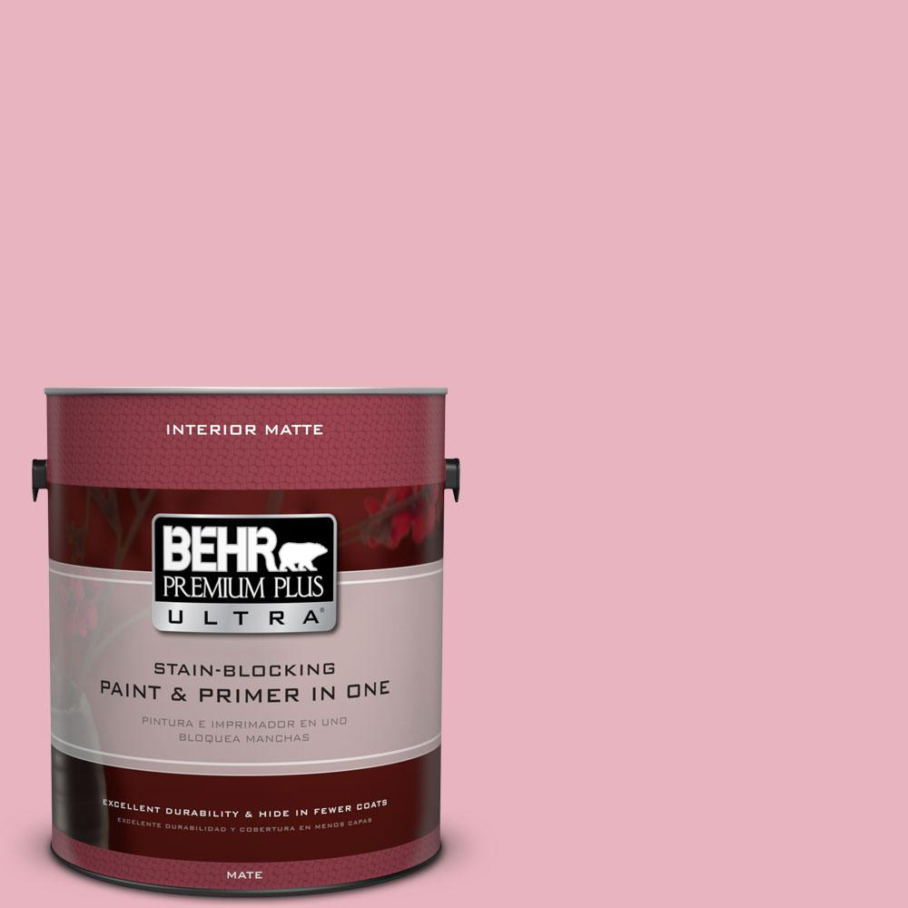 1 gal. #110C-2 Colonial Rose Flat/Matte Interior Paint