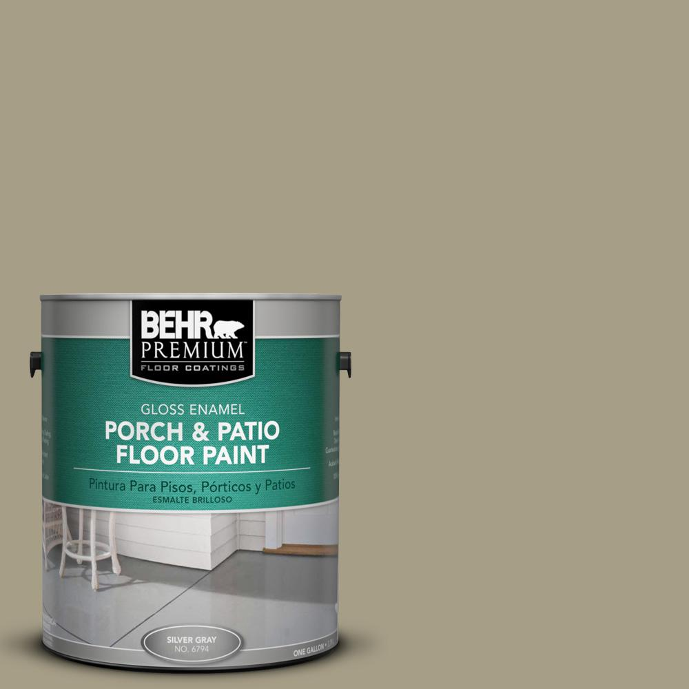 1 gal. #N340-4 Tent Green Gloss Porch and Patio Floor Paint