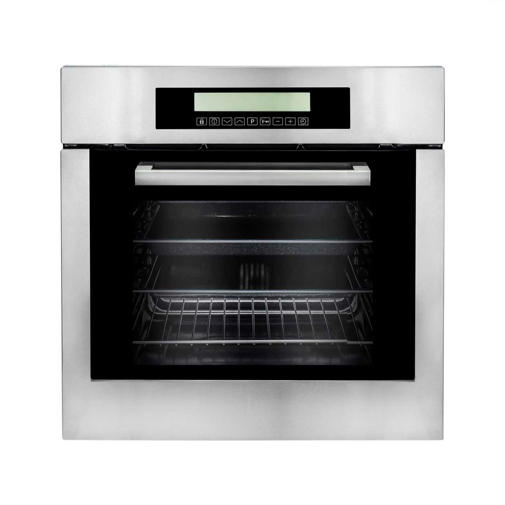 24 In 2 Cu Ft Single Electric Wall Oven W 10 Functions