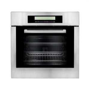 Click here to buy Cosmo 24 inch 2 cu. ft. Single Electric Wall Oven with Convection and Self Cleaning Feature in Stainless Steel by Cosmo.