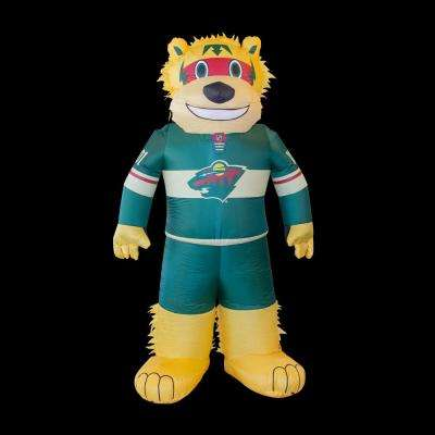 7 ft. Minnesota Wild Inflatable Mascot