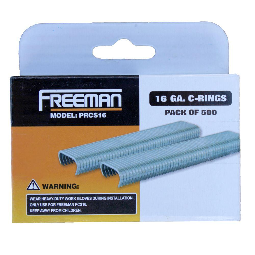16-Gauge C-Ring Staples