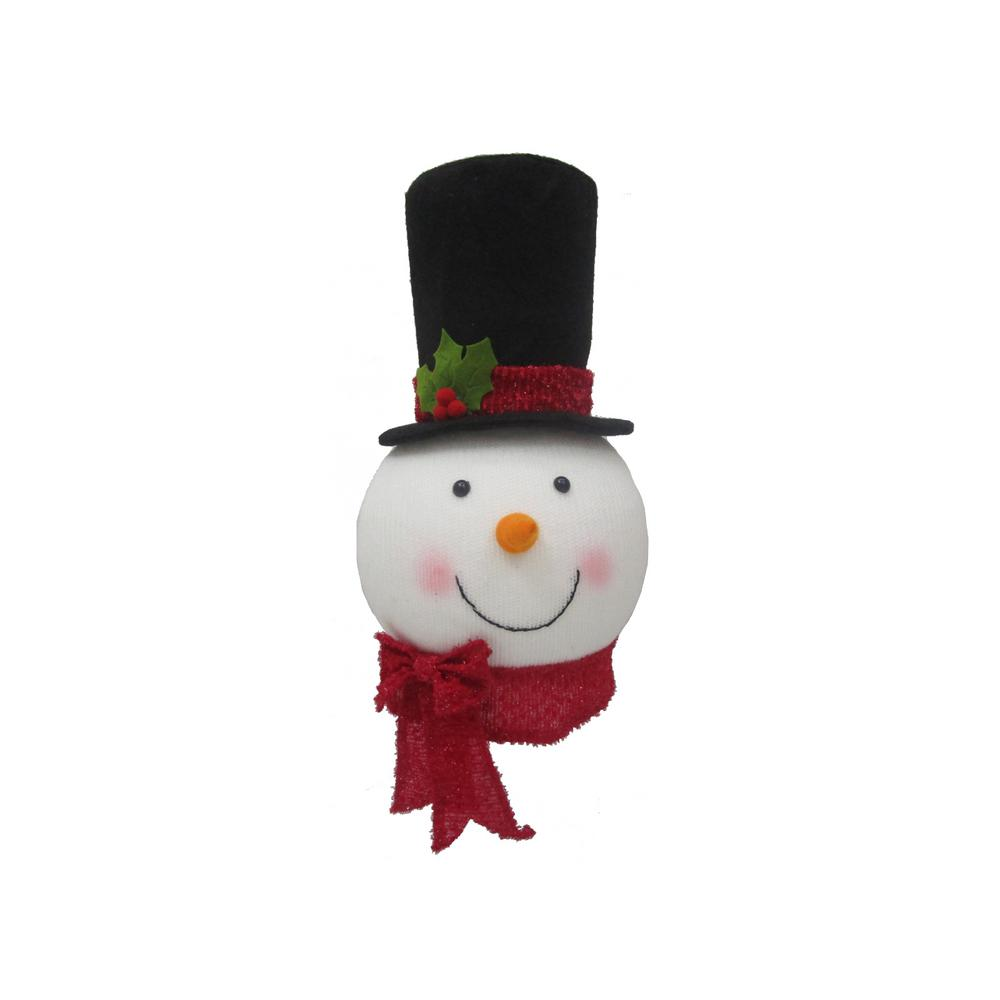 Home Accents Holiday 14 5 In Snowman Tree Topper