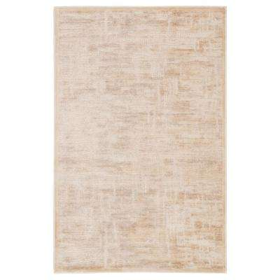 Fables Beige 8 ft. 10 In. x 11 ft. 9 In. Abstract Rectangle Rug