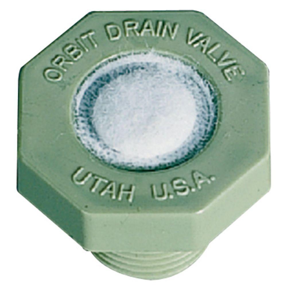 Orbit 5 Psi Plastic Auto Drain Valve 51041 The Home Depot