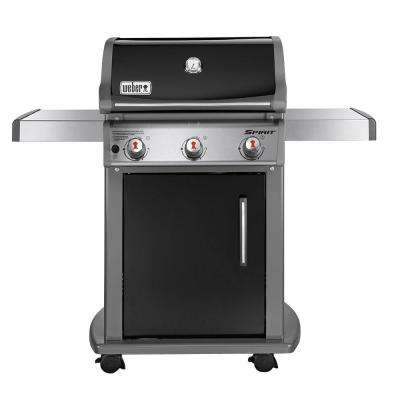 Spirit E-310 3-Burner Natural Gas Grill in Black