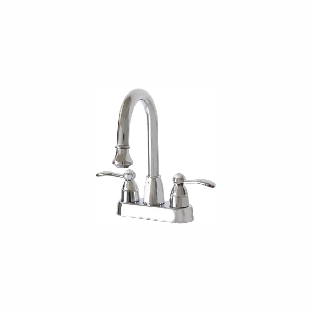 651e72a27da Belle Foret 4 in. Centerset 2-Handle High-Arc Bathroom Faucet in ...