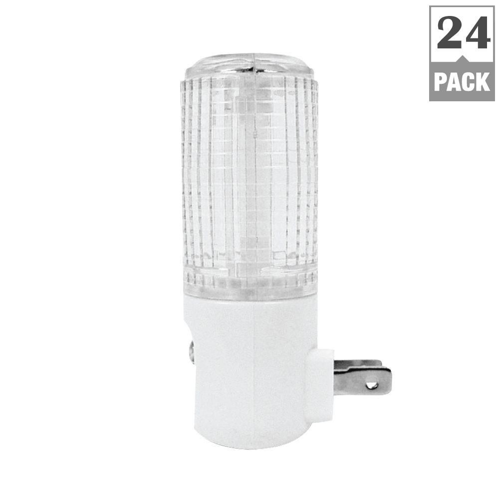 Eternalite 1W Equivalent Automatic Sensor LED Night Light (24-Pack)