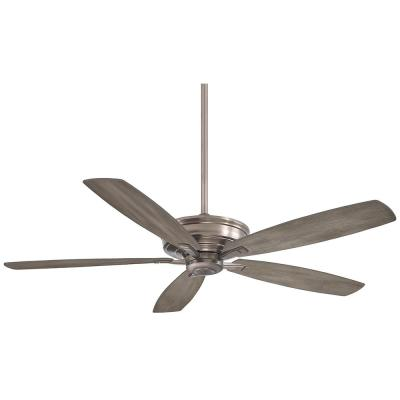 Kafe-XL 60 in. Indoor Burnished Nickel Ceiling Fan with Remote Control