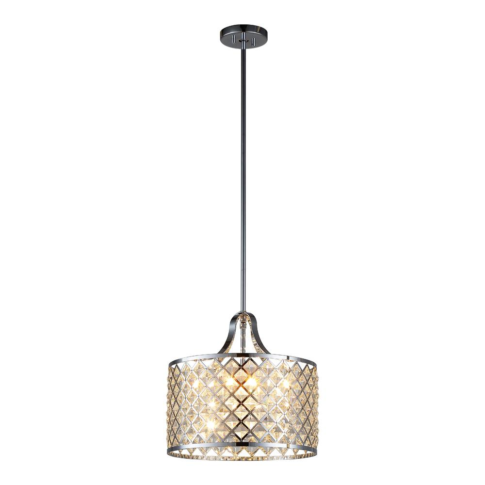 Ove Decors Baker I 4 Light Chrome Pendant