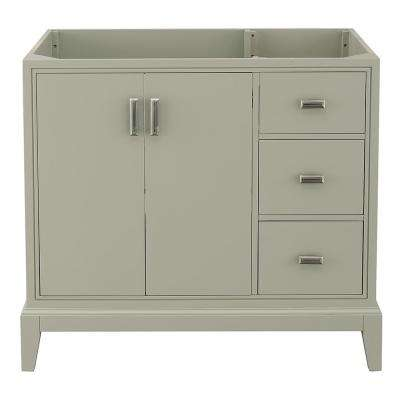 Shaelyn 36 in. W x 21.75 in. D Vanity Cabinet Only in Sage Green