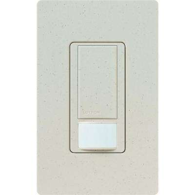 Maestro Dual Voltage Motion Sensor switch, 6-Amp, Single-Pole, Limestone