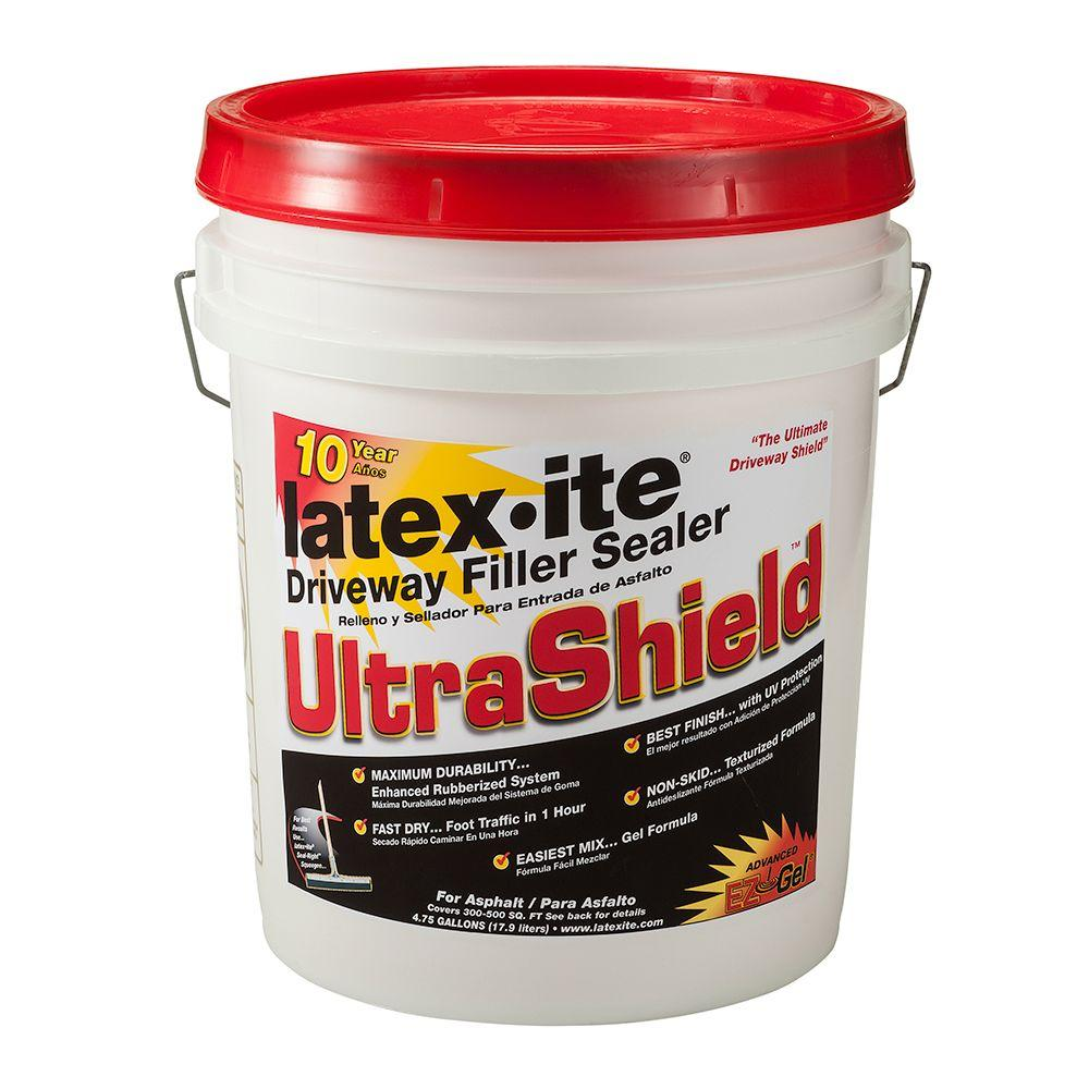 Latex-ite 4 75 Gal  Ultra Shield Driveway Filler Sealer