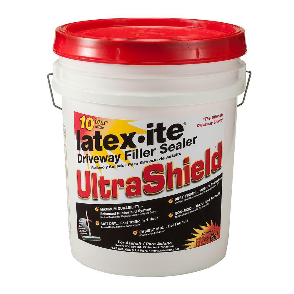 4.75 Gal. Ultra Shield Driveway Filler Sealer