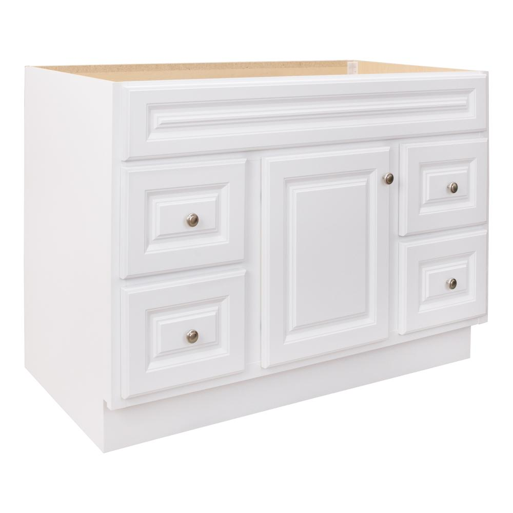 Glacier Bay Hampton 48 In W X 21 In D X 33 5 In H