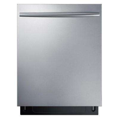 24 in Top Control Tall Tub StormWash Dishwasher in Stainless Steel with AutoRelease Dry and 3rd Rack, 44 dBa