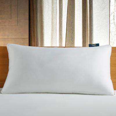 300-Thread Count White Down Fiber Bed Side Sleeper Medium Firm King Size Pillow