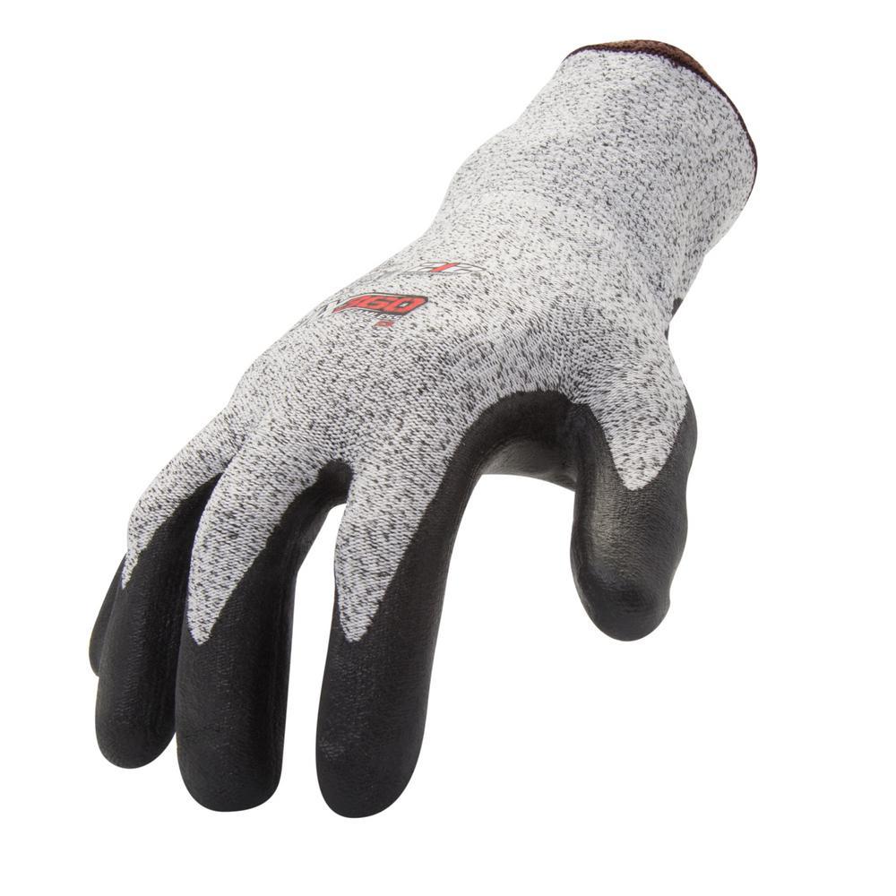 Medium Foam Nitrile-Dipped Cut Resistant Glove (12-Pair)