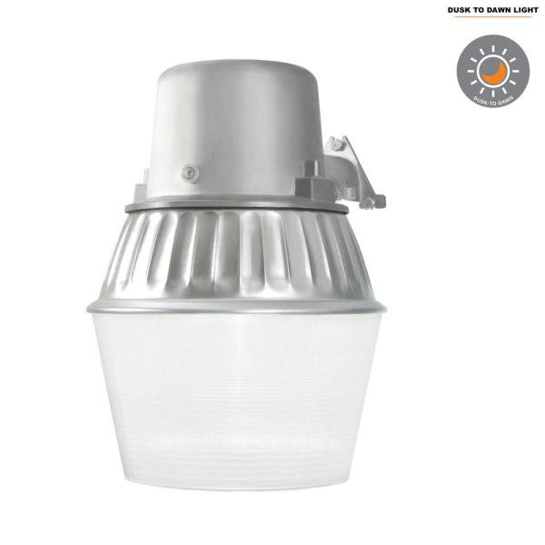 halo 65-watt metallic outdoor fluorescent security wall and area light with  dusk to dawn photocell sensor-al6501fl - the home depot  the home depot