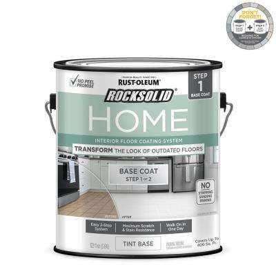 Home 1 gal. White Tint Base Interior Floor Coating