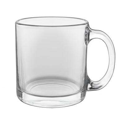 Robusta 13 oz. Clear Glass Coffee Mug (Set of 12)
