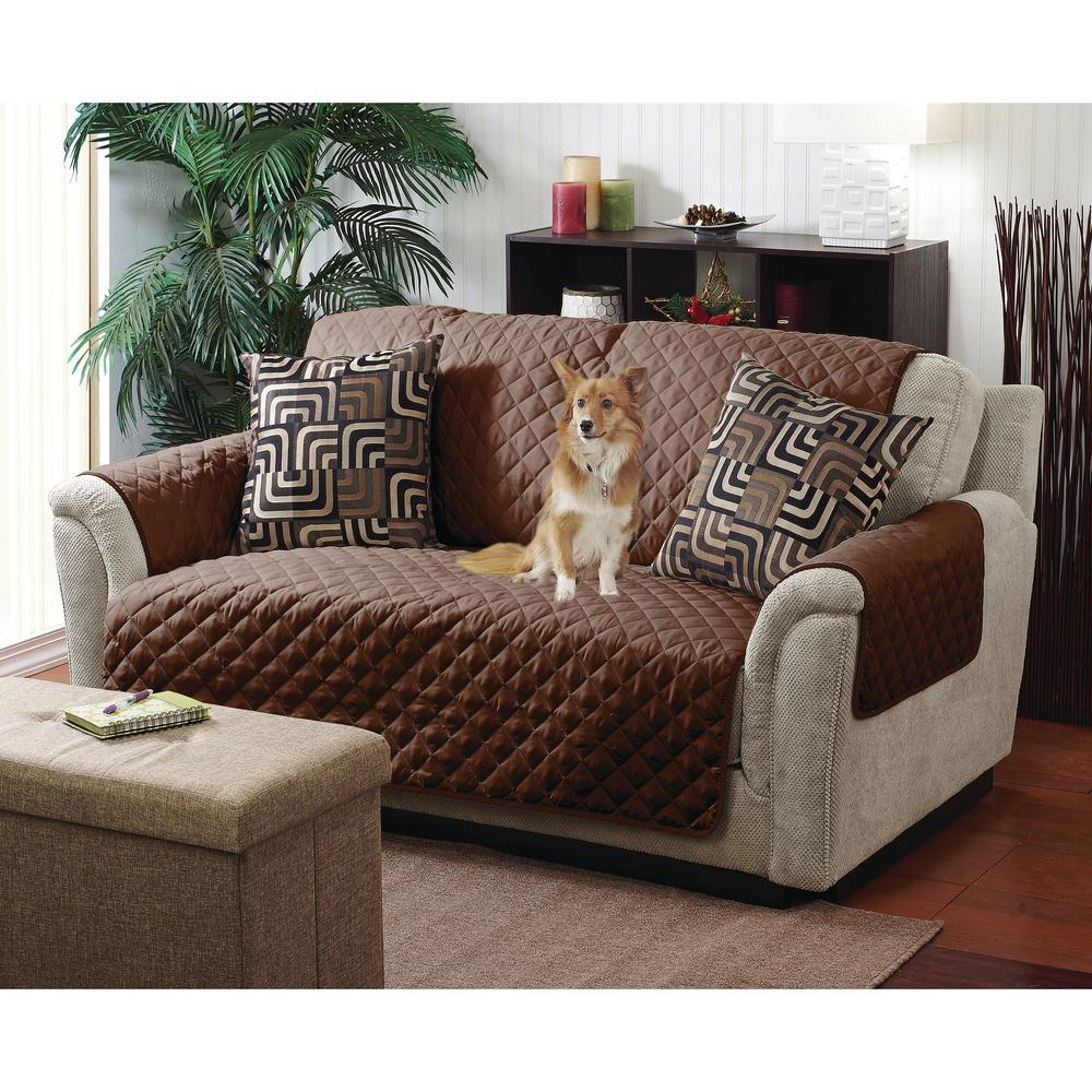 Double Side Sofa Furniture Protector Cover Pet Hair Stains