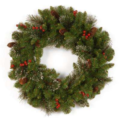 Crestwood Spruce 24 in. Artificial Wreath
