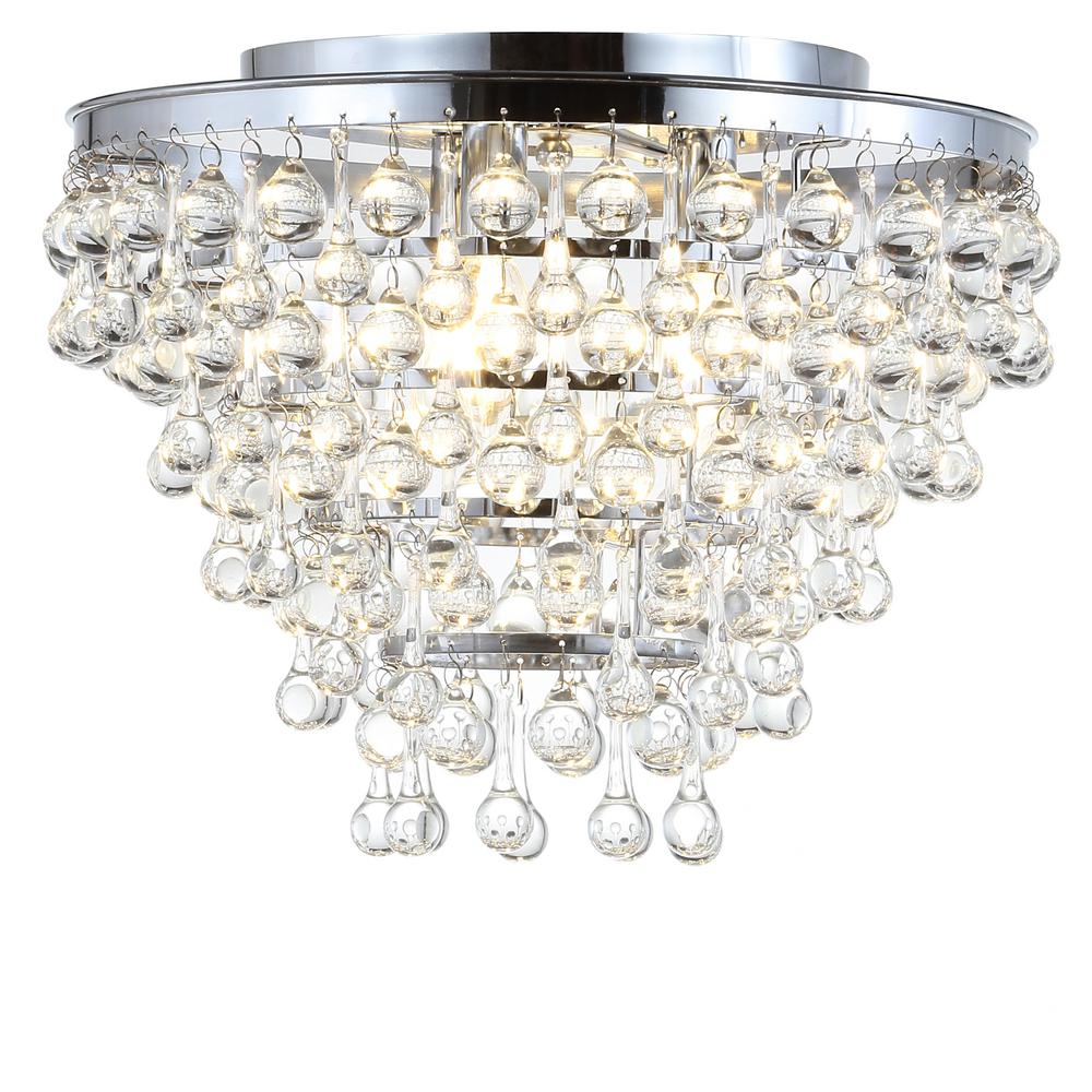 This Is Not Your Grandma S Chandelier: Worldwide Lighting Icicle 9-Light Chrome Crystal Extra