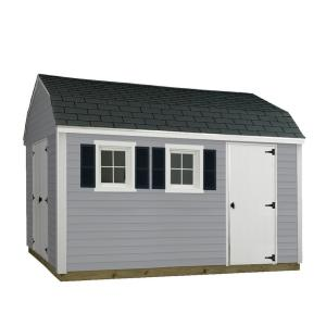 Sheds USA 10 ft. x 12 ft. Installed Vinyl Horizon by Sheds USA