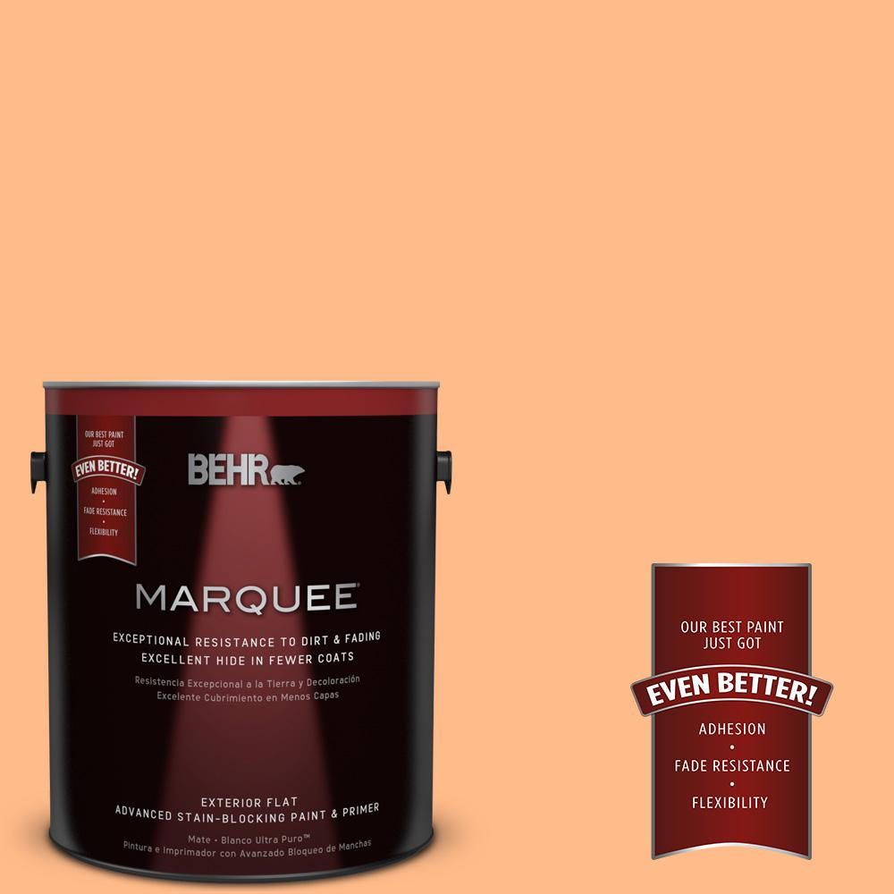 BEHR MARQUEE 1-gal. #250B-4 Coral Gold Flat Exterior Paint