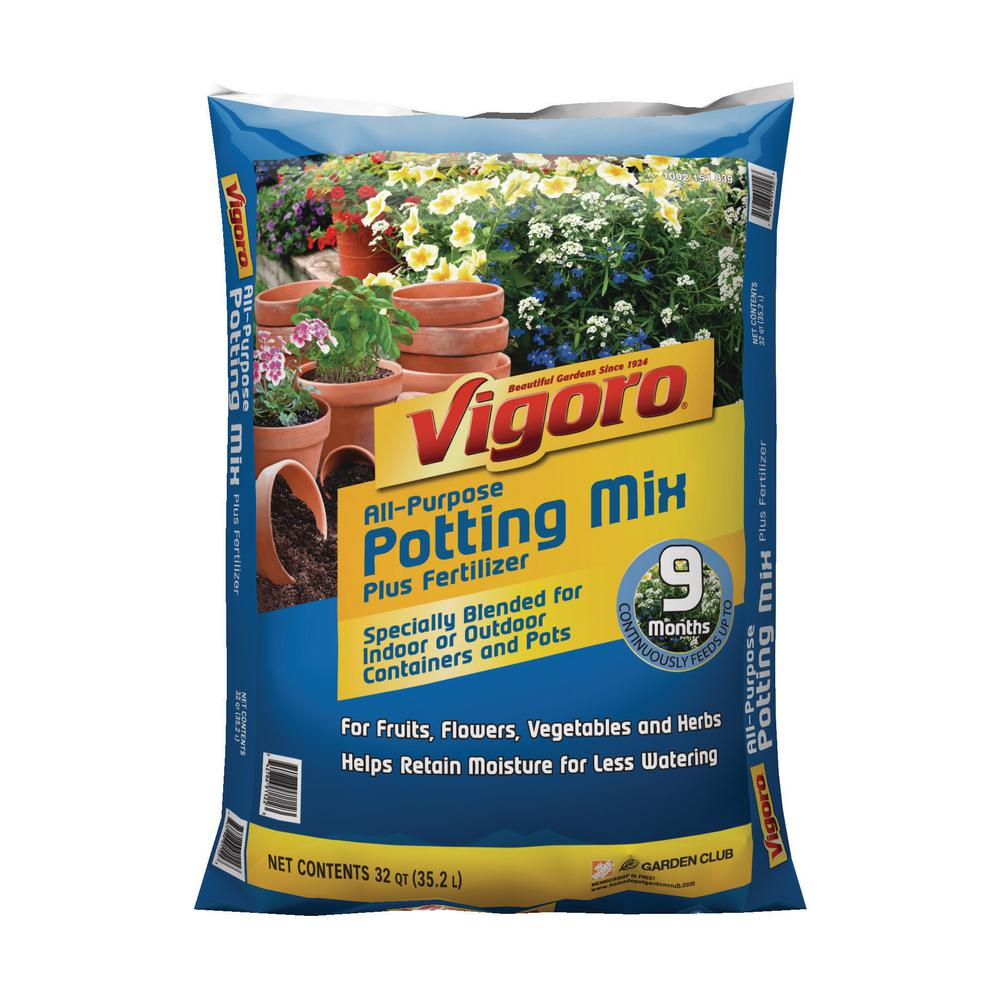 Vigoro Potting Soil Home Depot