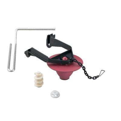 2 in. Toilet Tank Flapper Kit with Mechanical Arm