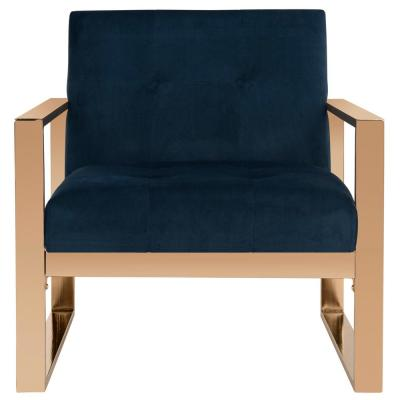 Vasco Navy Accent Chair