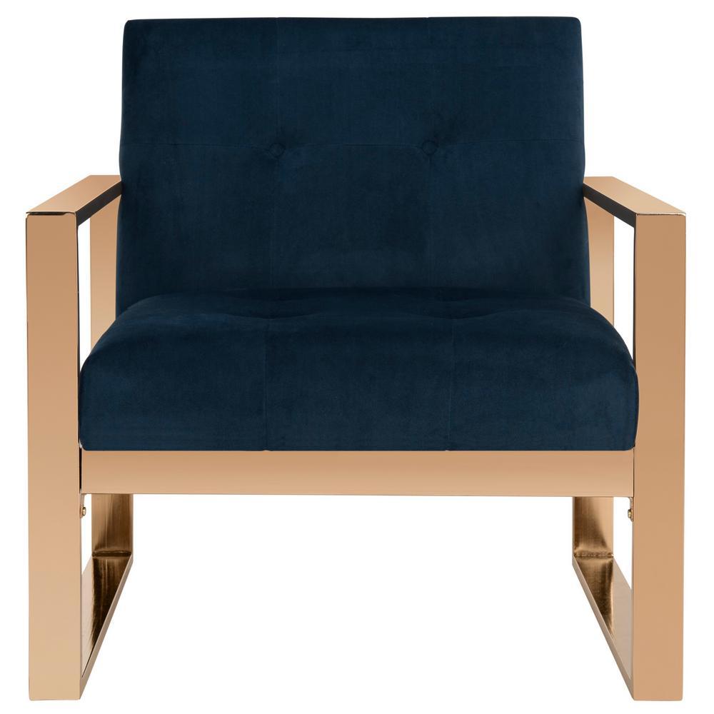 Vasco Navy Accent Chair