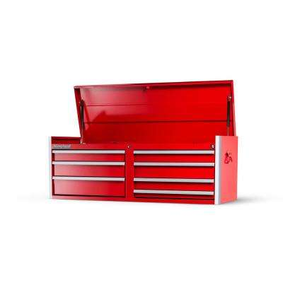 Tech Series 54 in. 7-Drawer Top Chest in Red