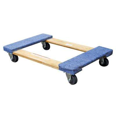 18 in. x 30 in. 900 lb. Carpet End Hardwood Dolly