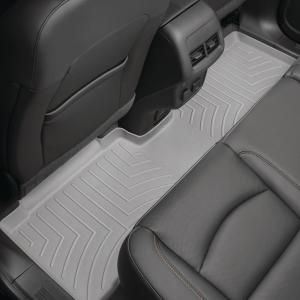 2005- for Navara Double Cab Connected Essentials 5033014 Tailored Heavy Duty Custom Fit Car Mats Grey with Black Trim Premium